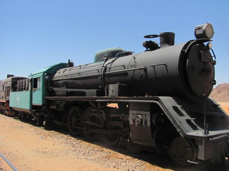 Wadi Rum train, Jordan