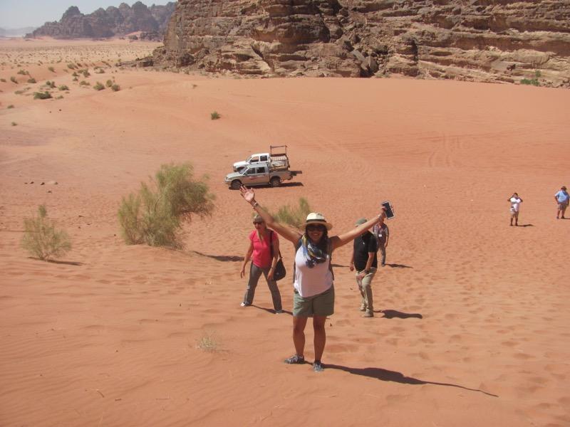 Wadi Rum-sand dune-Jordan