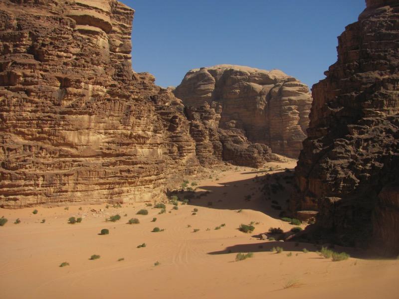 Wadi Rum-Jordan-Sand dune