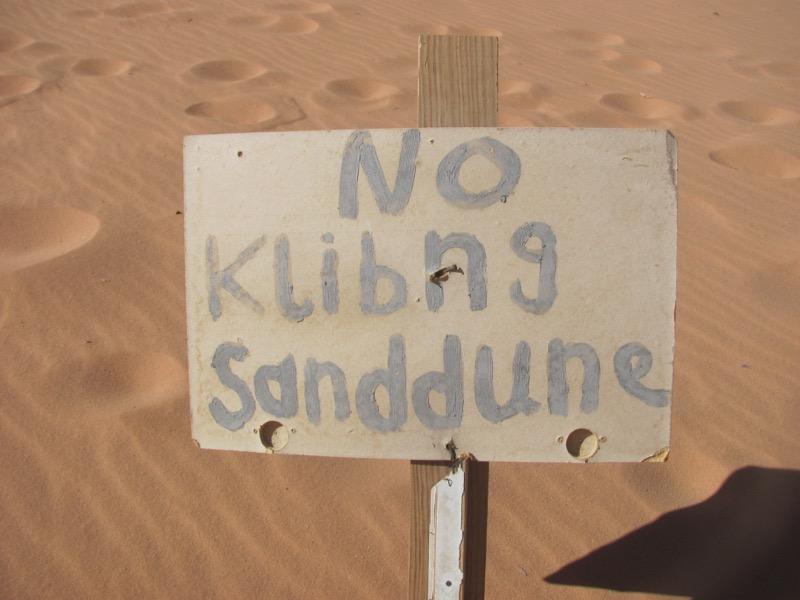 Wadi Rum Sand Dune-Jordan