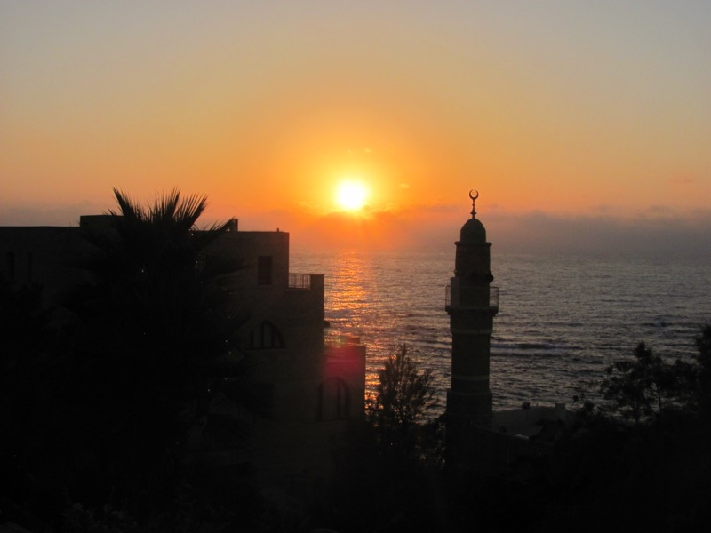Jaffa-sunset