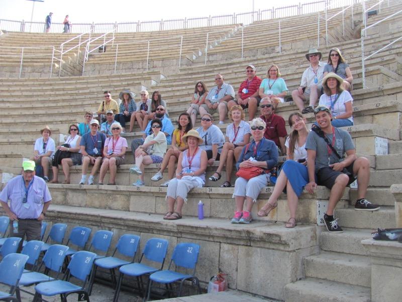caesarea september 2016 israel tour group