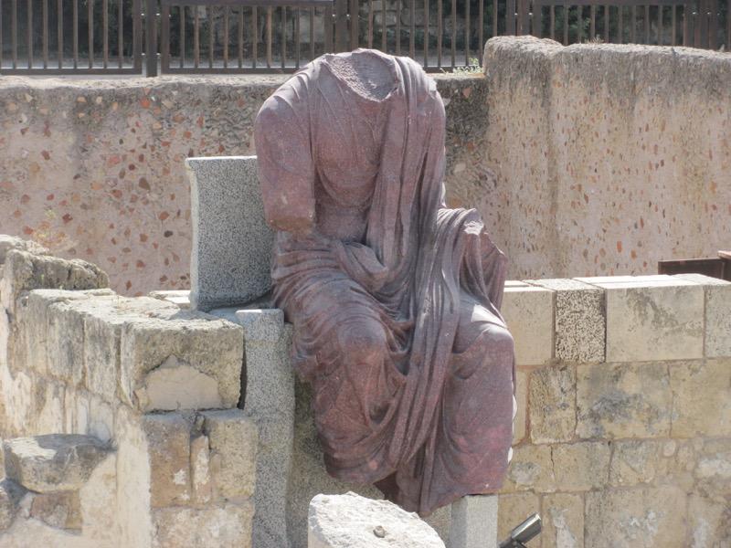 augustus statue caesarea