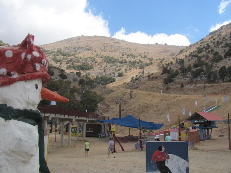 mt hermon israel ski lift