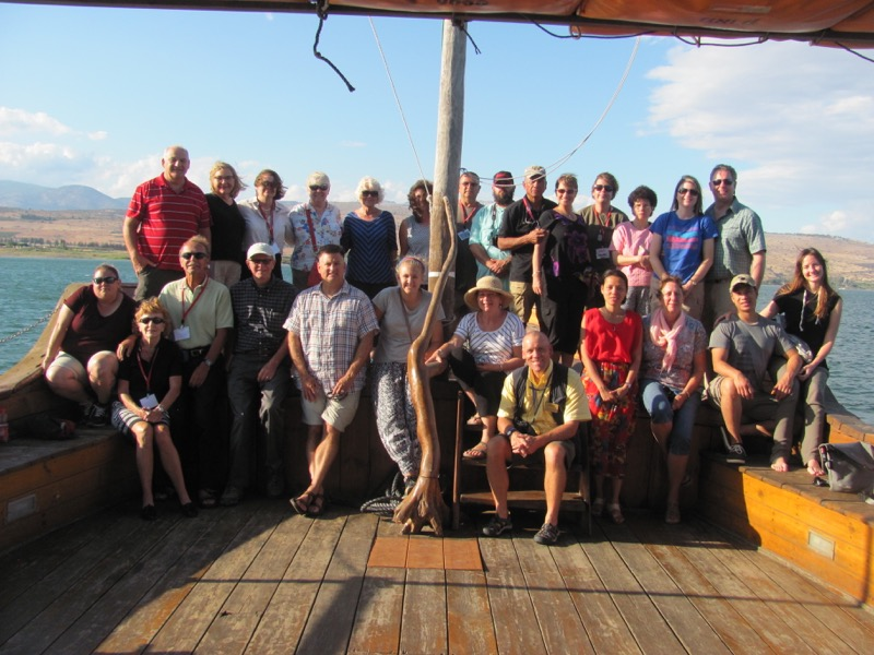 sea of galilee boat ride september 2016 israel tour