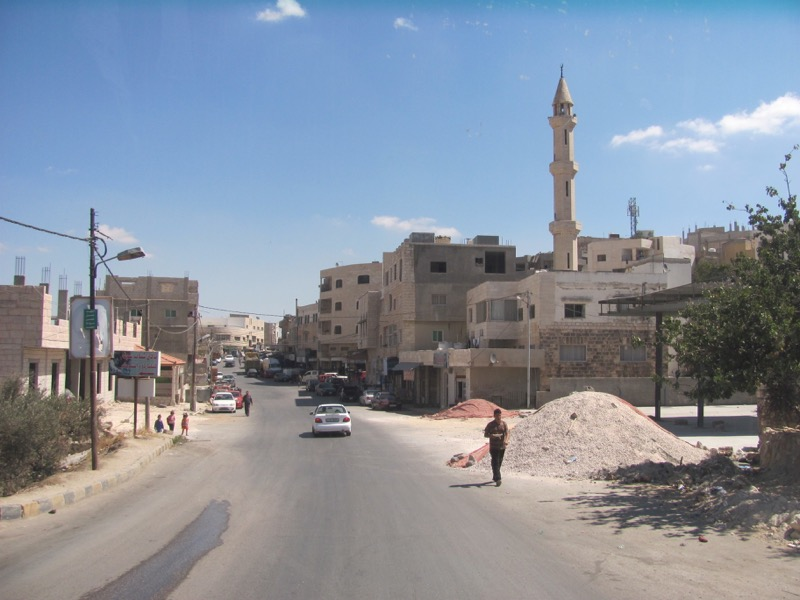 northern jordan near jerash