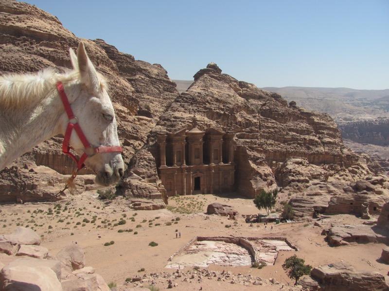 monastery tomb petra jordan