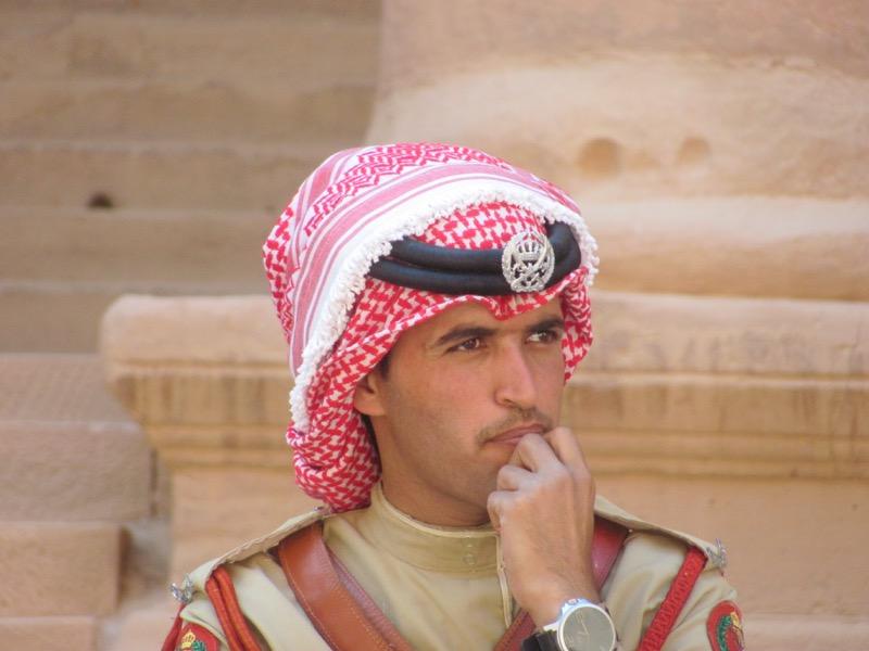 jordanian tourist police petra