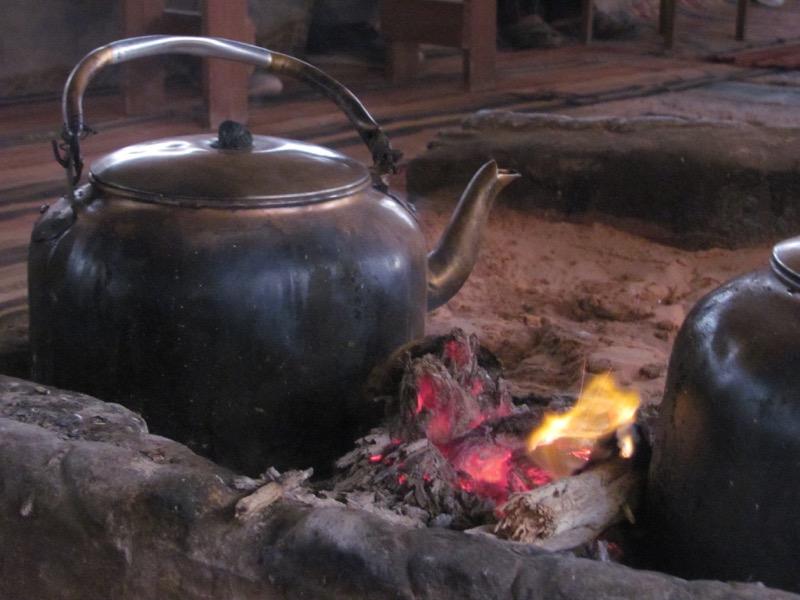 bedouin tea wadi rum jordan