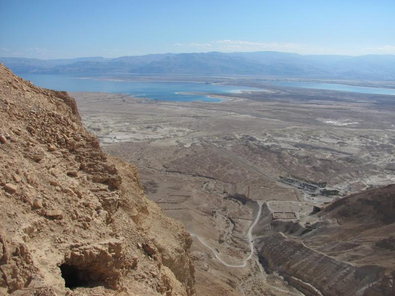southern end of masada israel