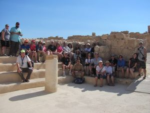 Gathering in the 1st century synagogue at Qumran