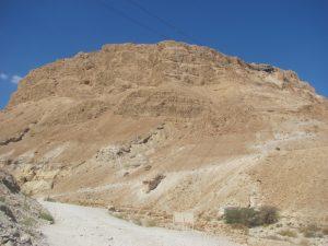 "The ""fortress"" of Masada"