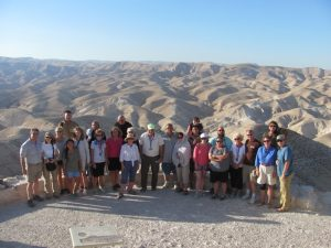 Overviewing the Wadi Qelt and the Judean Desert
