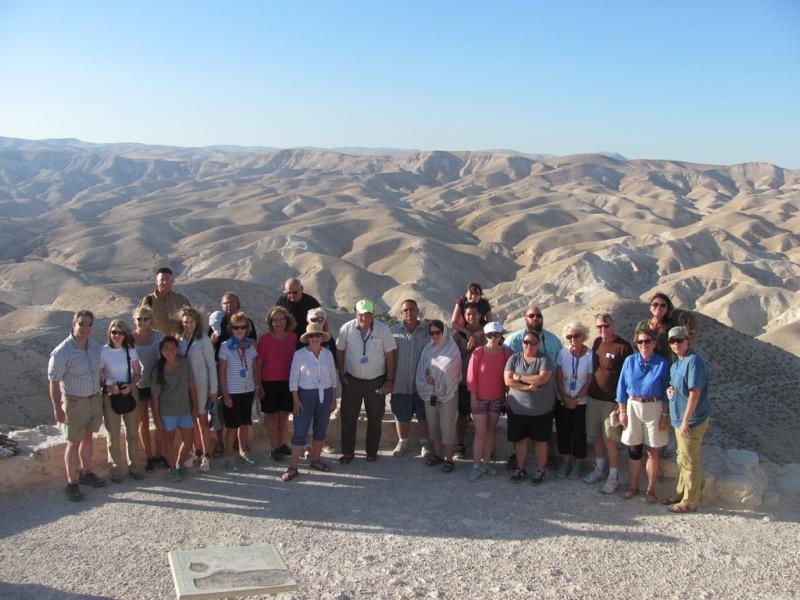 wadi qelt judean desert september 2016 israel tour