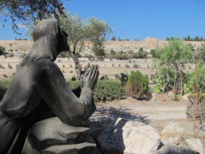 garden of gethsemane Christ praying