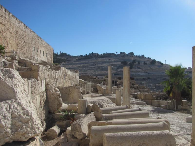 southern steps of temple jerusalem