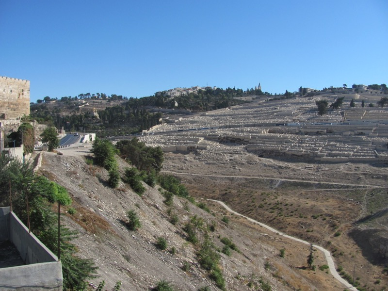 kidron valley Mt. of Olives