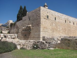 south wall excavations of Temple Mount