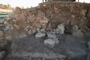 megiddo fire mud brick