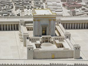 The 2nd Temple (model at Israel Museum)