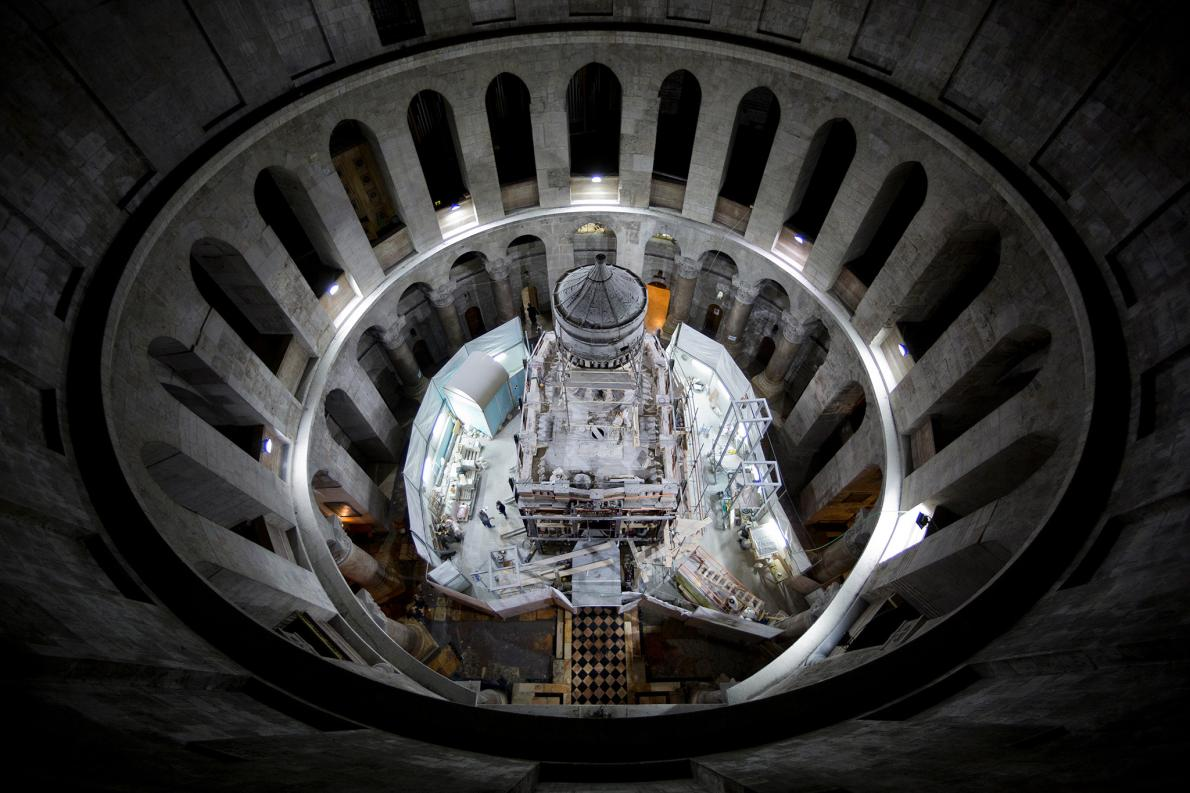 The Newly Exposed Tomb of Jesus!