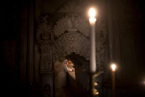 Holy sepulcher tomb of Jesus