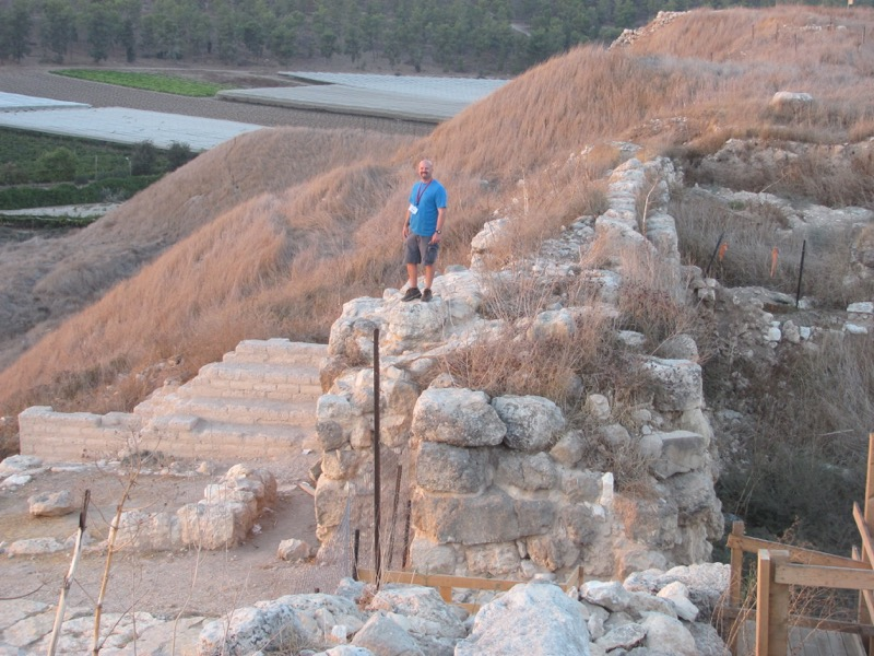 lachish gate and wall
