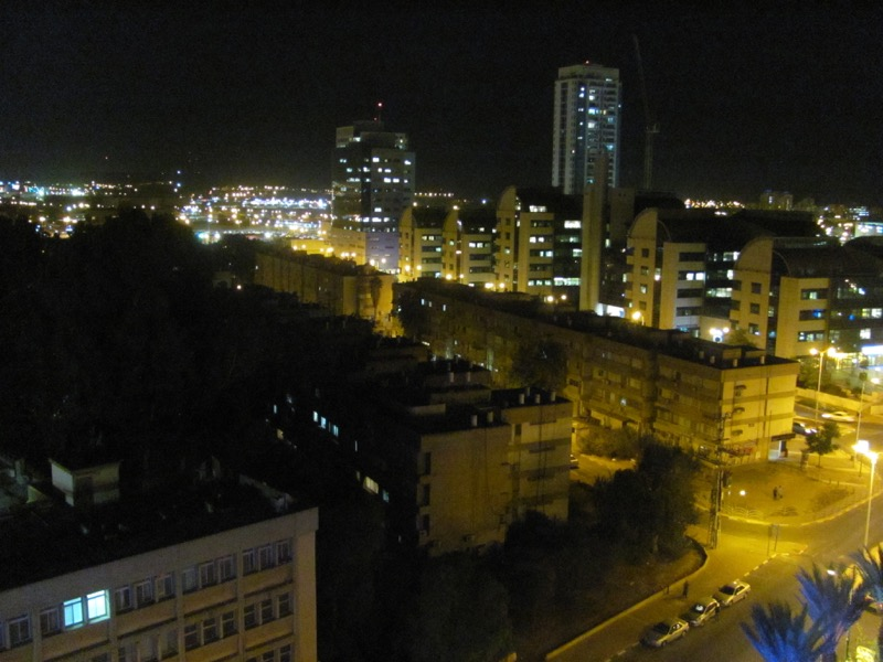 beersheba at night