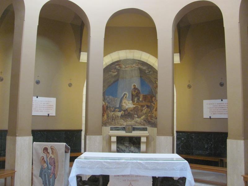 chapel of shepherds bethlehem