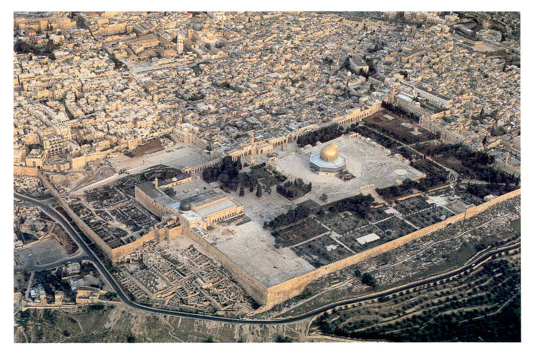 The Temple Mount & Amazing Flyover