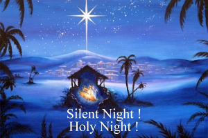 Silent night Christmas