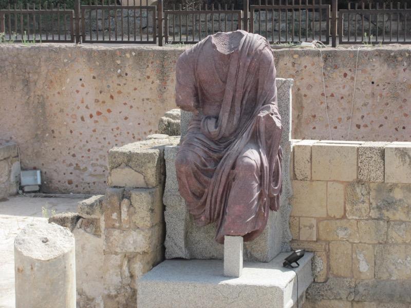 caesarea perfori statue