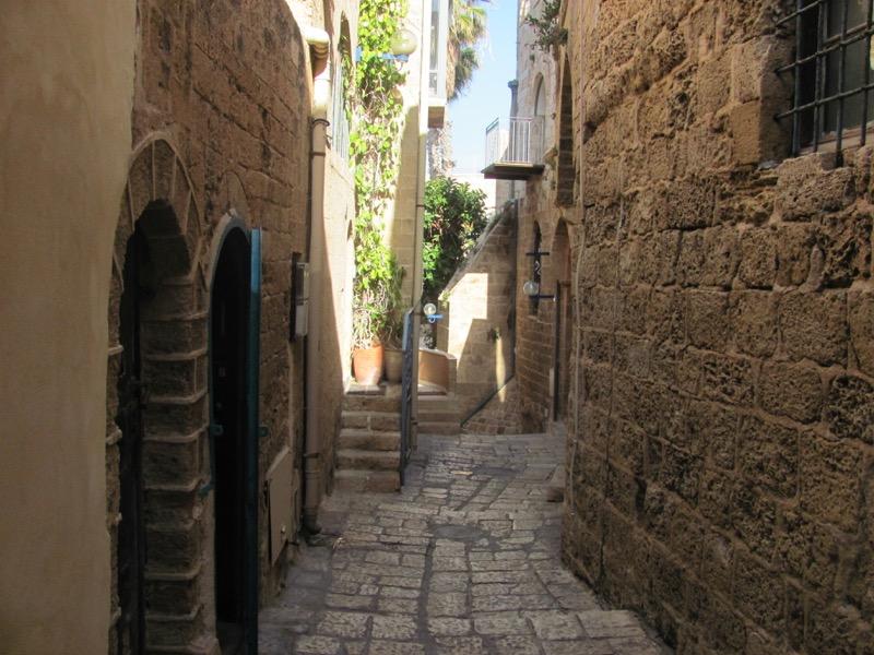 jaffa alley way