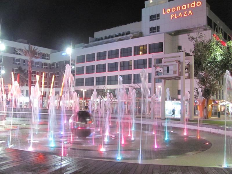 Netanya town square