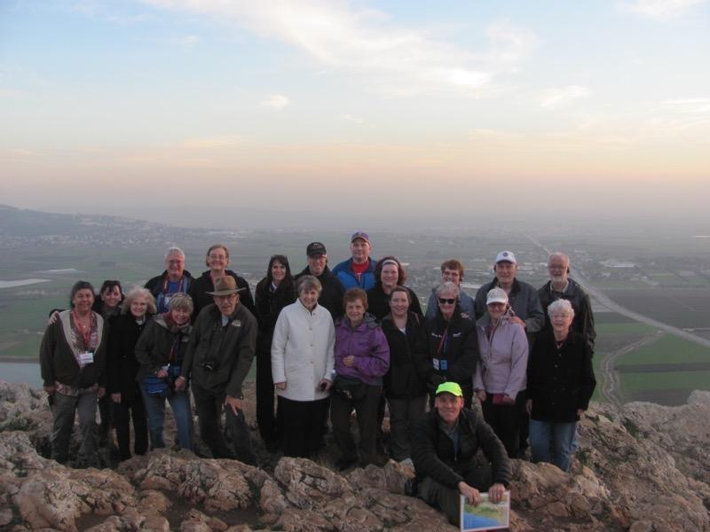 Nazareth precipice and Jezreel Valley January 2017 Israel Tour