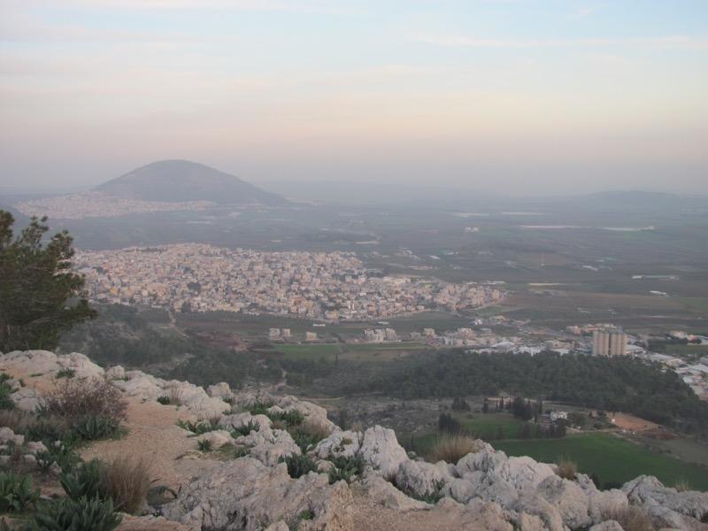 Mt. Tabor Israel Jezreel valley
