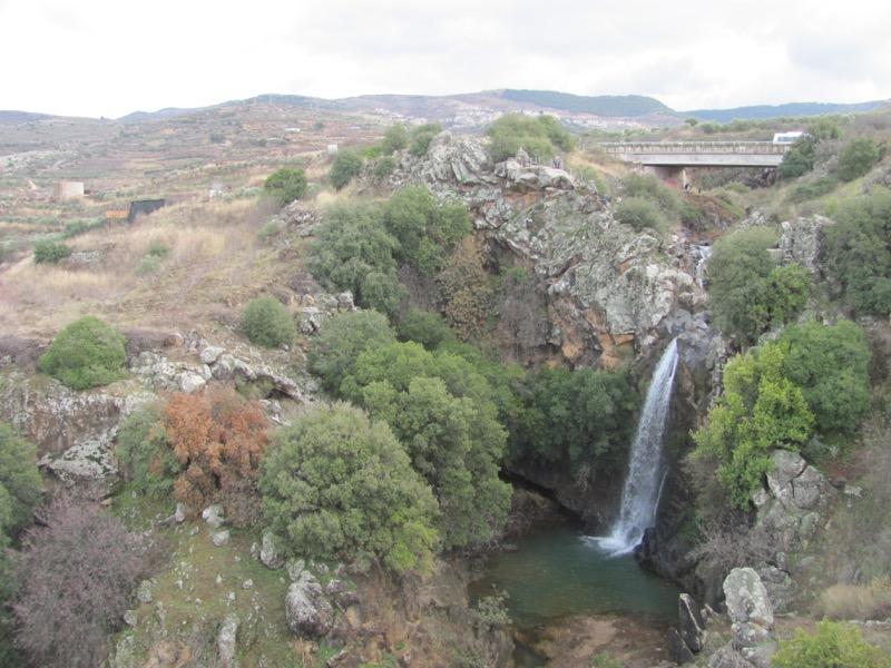sa'ar falls israel