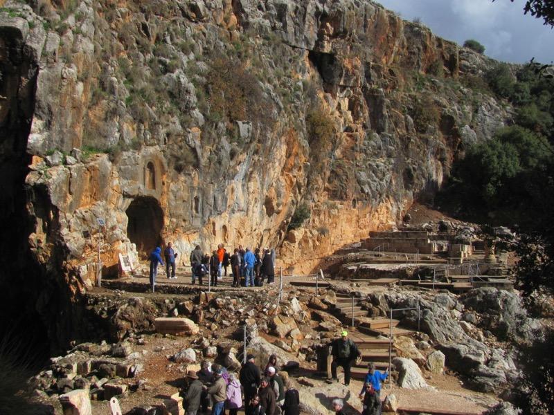 caesarea philippi grotto