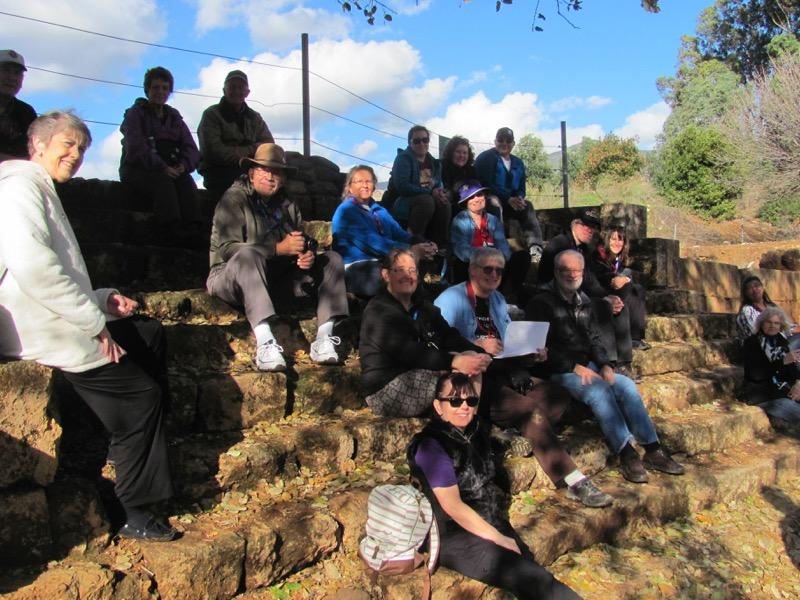 high place tel dan january israel tour