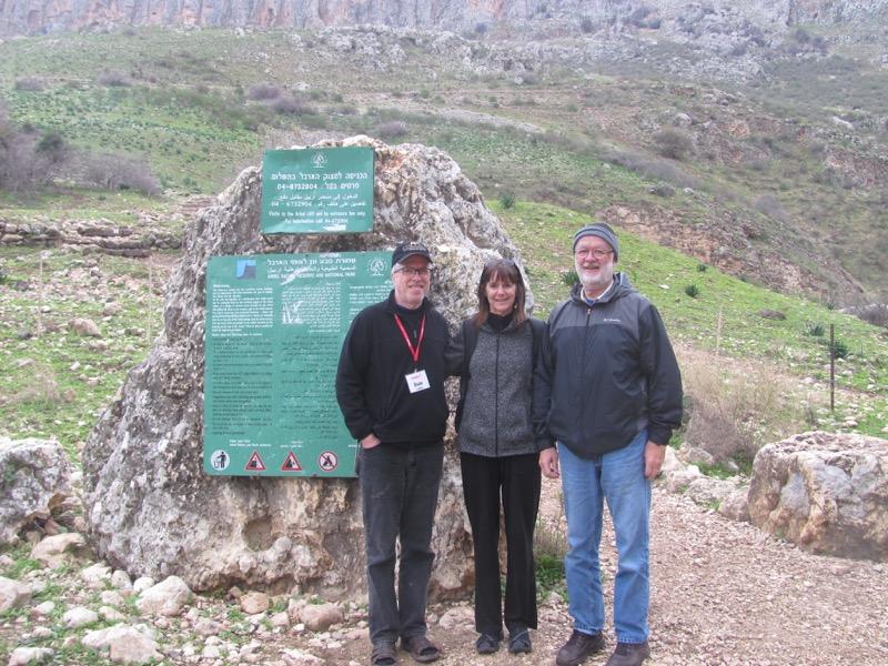 hiking Mt. Arbel Israel