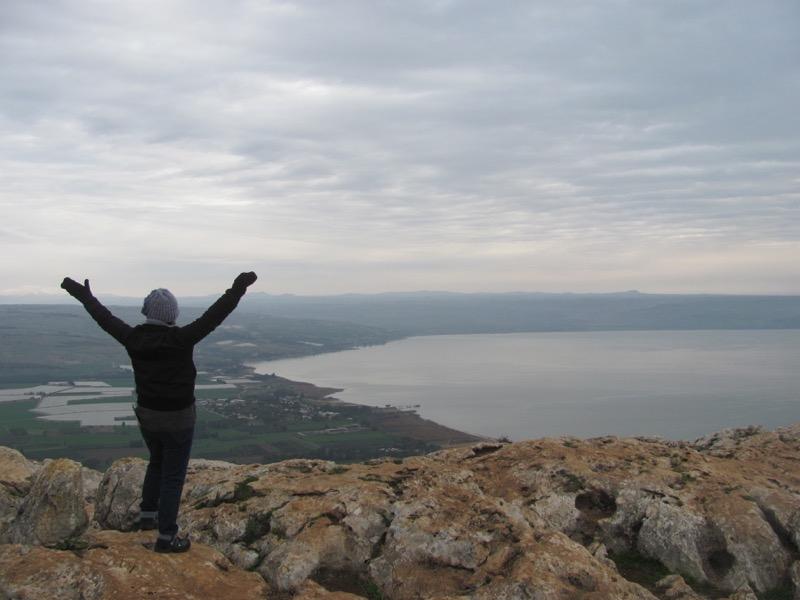 top of Mt. Arbel Israel