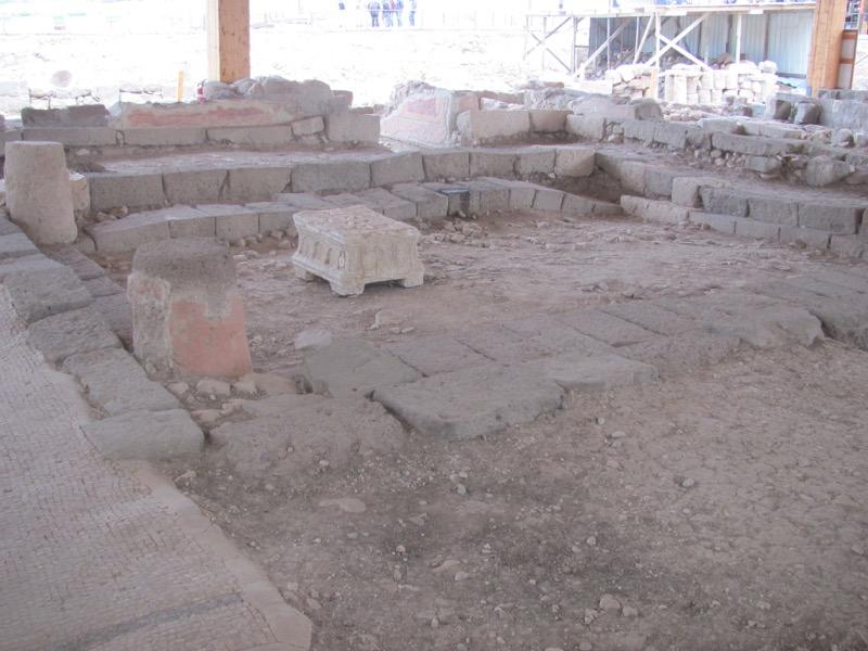 Magdala synagogue Israel