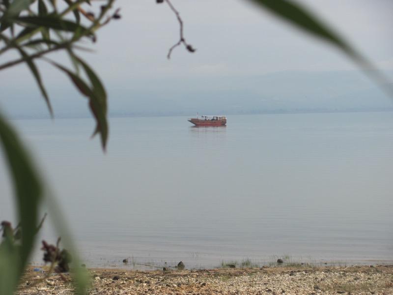 Sea of galilee boat israel