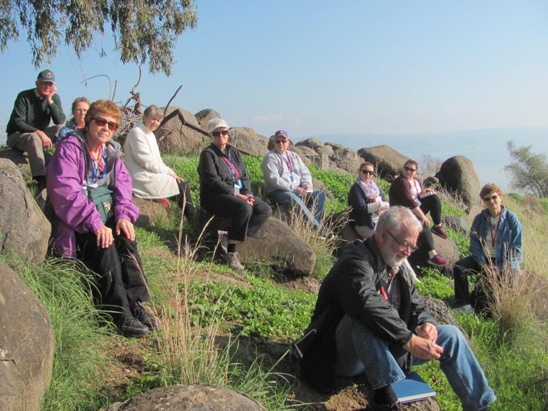 Mt. of beatitudes israel