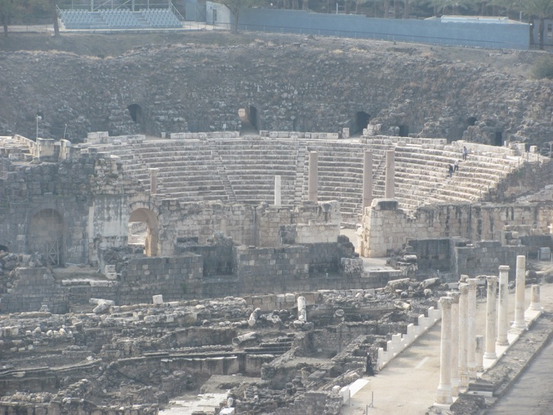 Roman theater Beth Shean Israel Tour