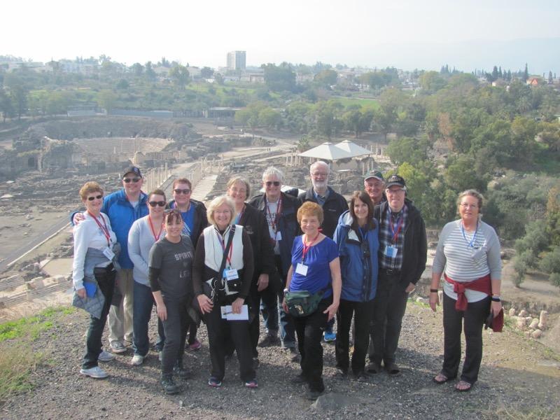 Beth Shean January 2017 Israel Tour
