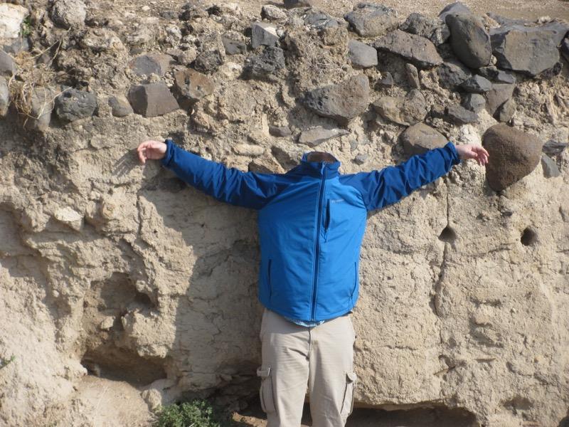 Headless Saul at Beth Shean Israel Tour