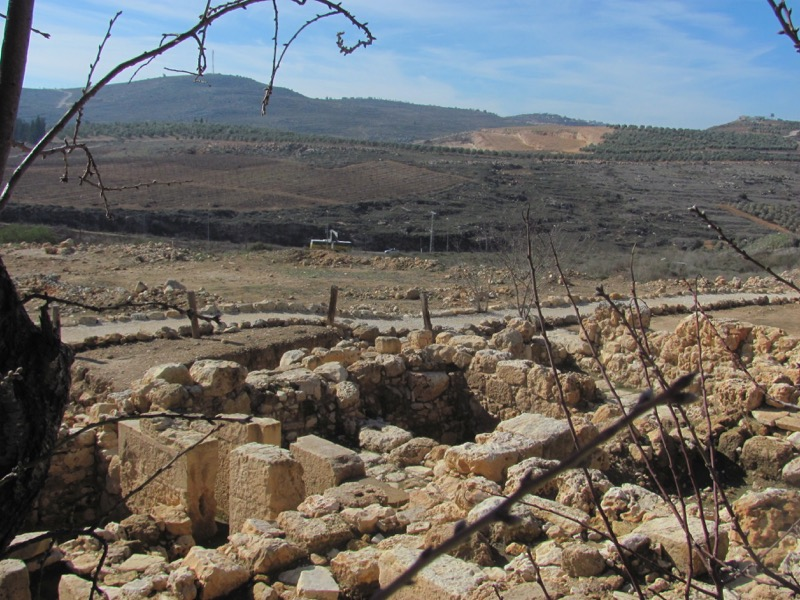 ruins of shiloh israel tour