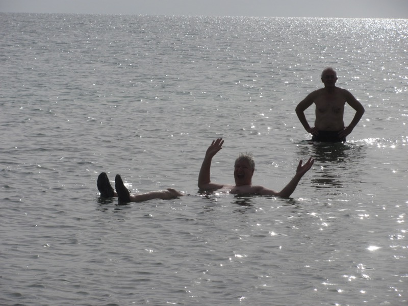 floating in dead sea israel tour