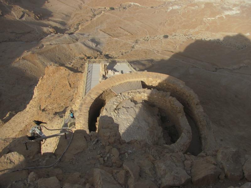 masada herod's northern palace israel tour